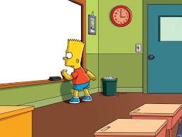 Simpsons: generatore di frasi alla lavagna